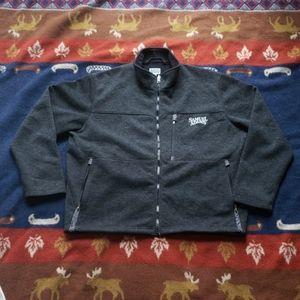 Samuel Adams Wool Blend Zip-Up Jacket Mens Size Lg